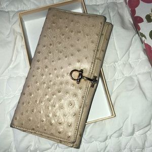 Handbags - Tan leather wallet from Florence Italy